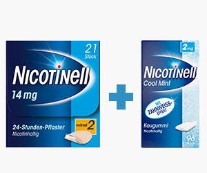 Nicotinell Kombination